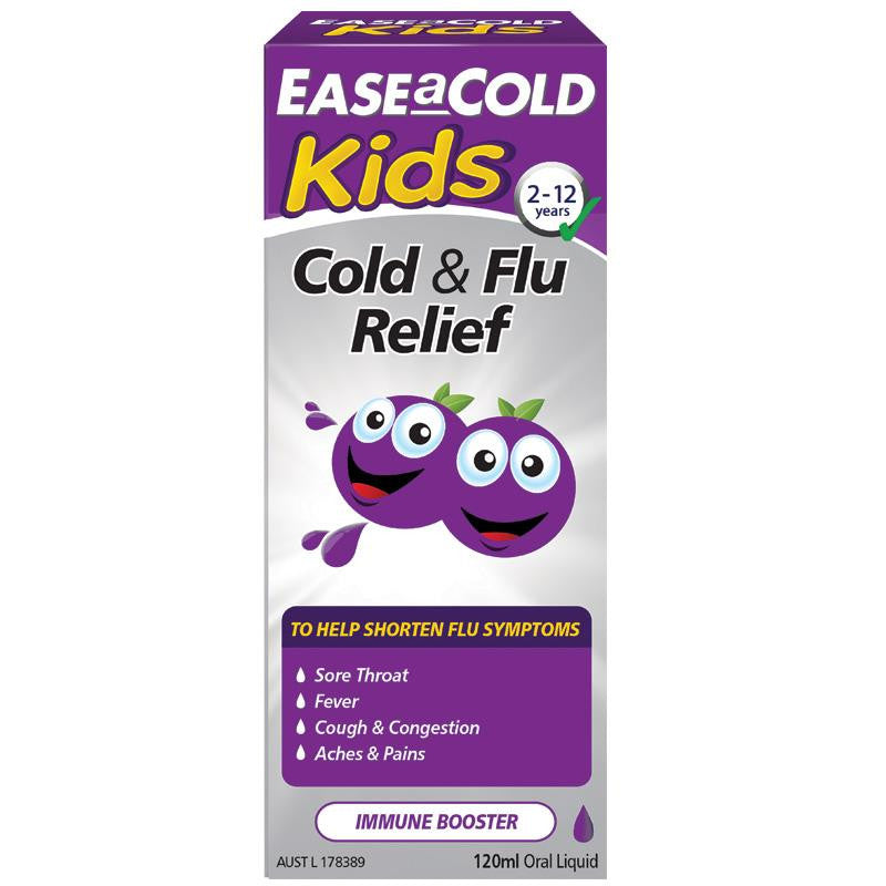 Ease-a-Cold Kids Liquid 120mL
