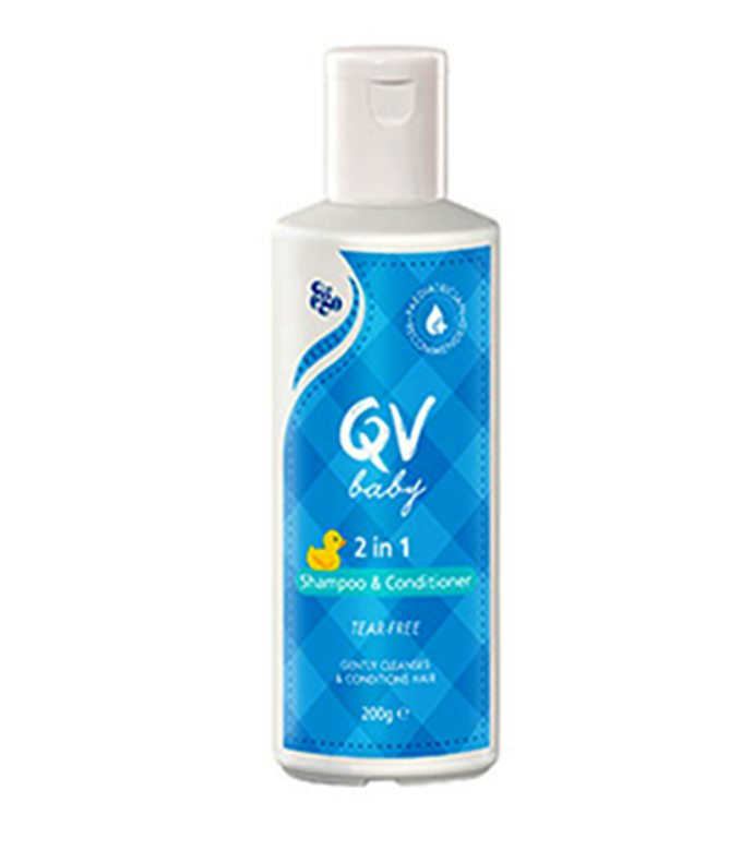 Ego QV Baby 2in1 Shampoo & Conditioner 200g