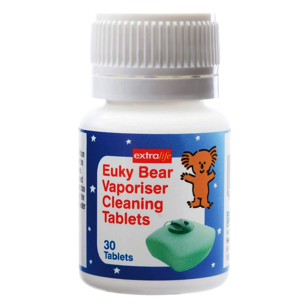 Euky Bear Vaporiser Cleaning Tablets 30