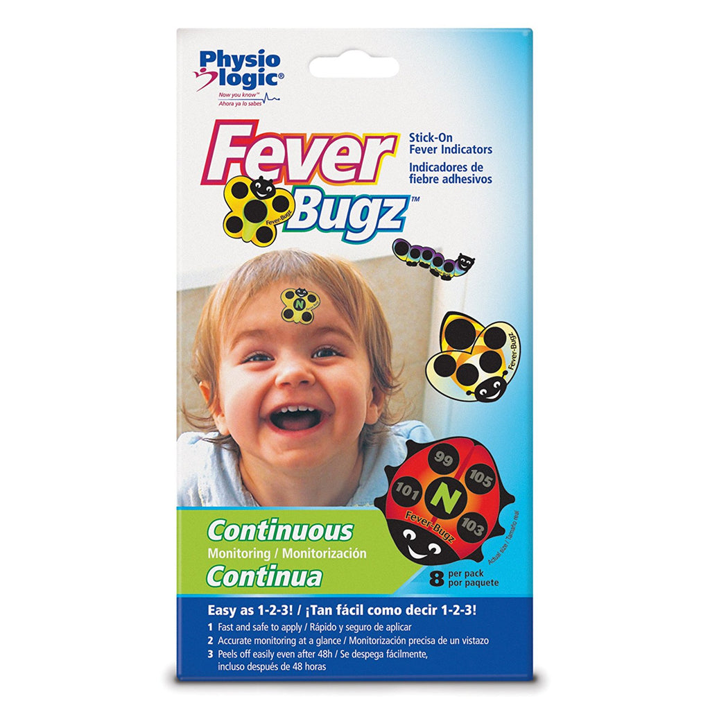 Fever Bugz Stick On Therm 8 x12 Pack