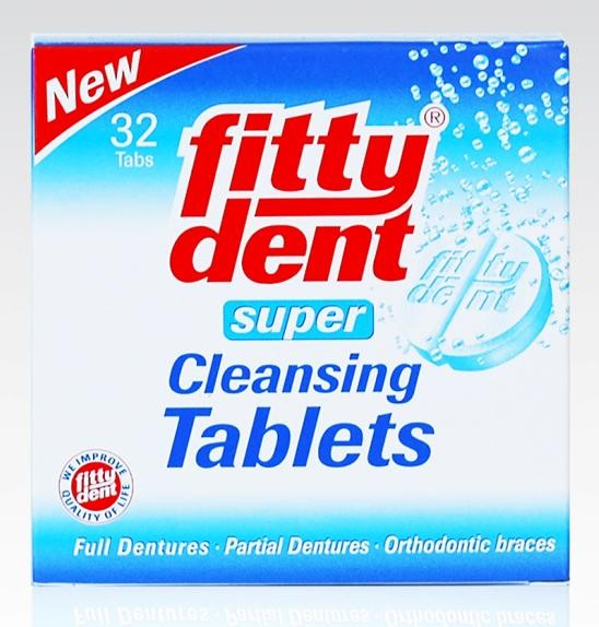 Fitty Dent Cleansing Tablets 32