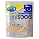 Flight Socks Natural Ladies