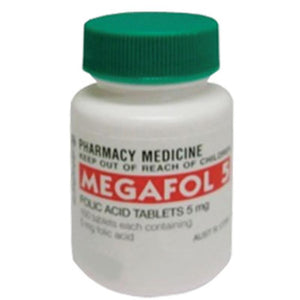 Folic Acid 0.5mg 100 (Megafol)