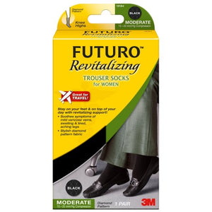 Futuro Revitalizing Trouser Sock Women Small