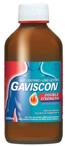 Gaviscon Double Strength Liquid Aniseed 500mL