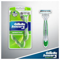 Gillette Sensor3 Sensitive Disposable Razor 4 Pack