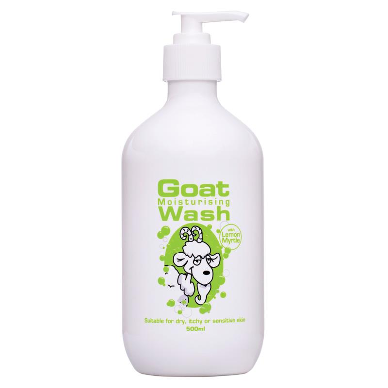 Goat Moisturising Body Wash Lemon Myrtle 500mL