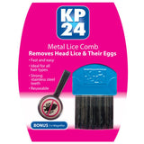 KP24 Metal Lice Combs