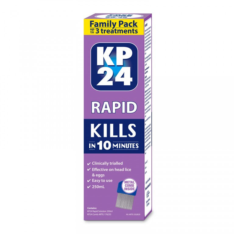 KP24 Rapid with Comb 250mL