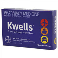 Kwells Chewable Tablet 12