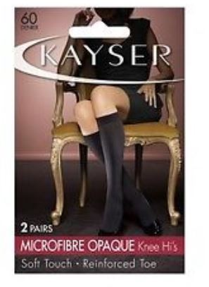 Kayser Micro Ankle Opaque Black 5 Pack