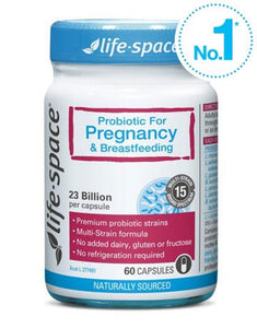 Life Space Probiotic Pregnancy & Breastfeeding Capsules 60