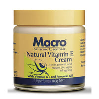 Macro Natural Vit-E Cream 100g