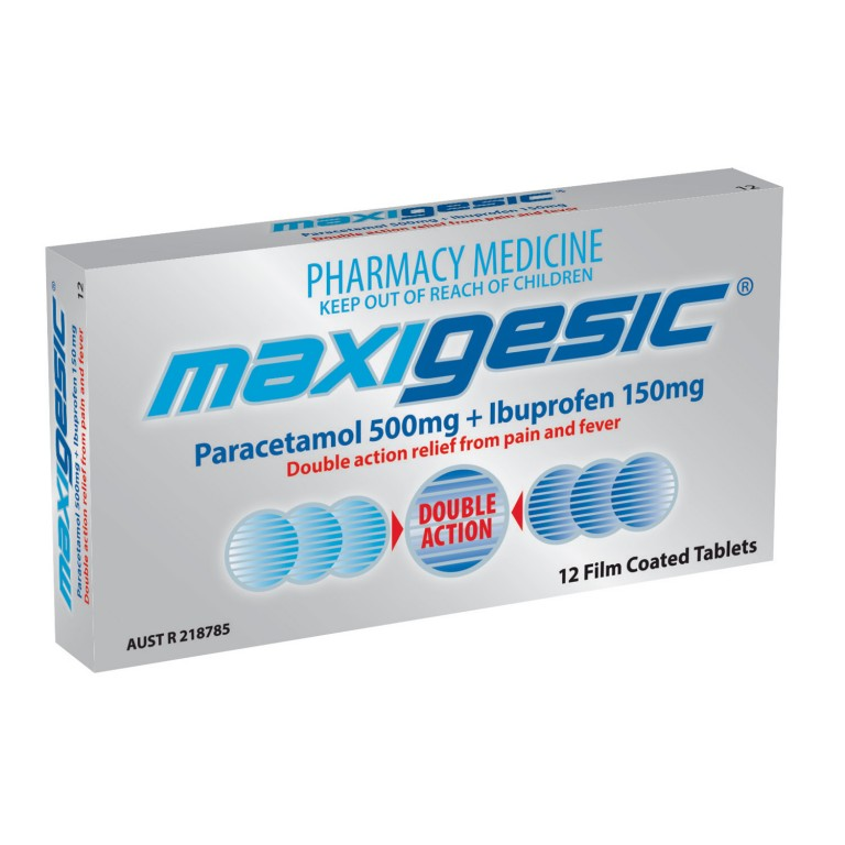Maxigesic Tablets