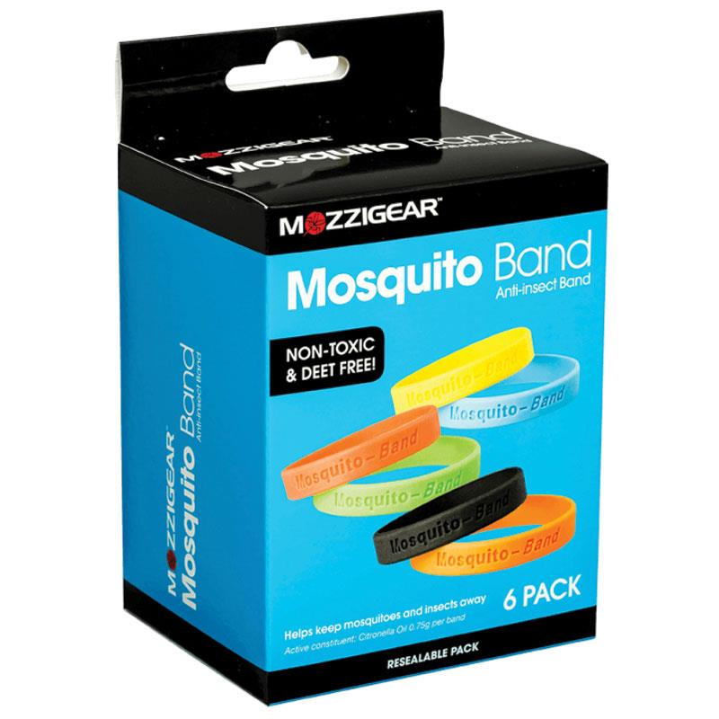 Mosquito Bands 6 Pack
