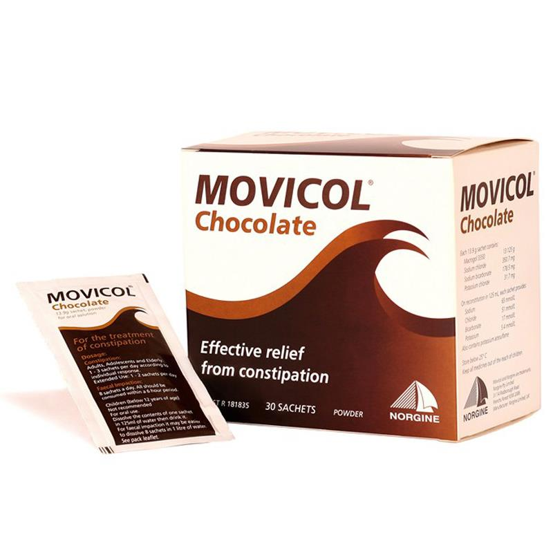 Movicol 13.8g Chocolate 30 (PBS)