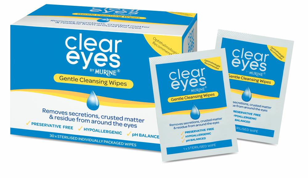 Murine Clear Eyes Wipes  30