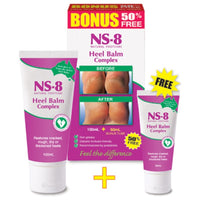 NS8 Heel Balm 100mL Bonus Pack