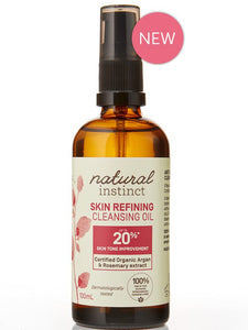 Natural Instinct Skin Refining Cleansing Oil 100mL