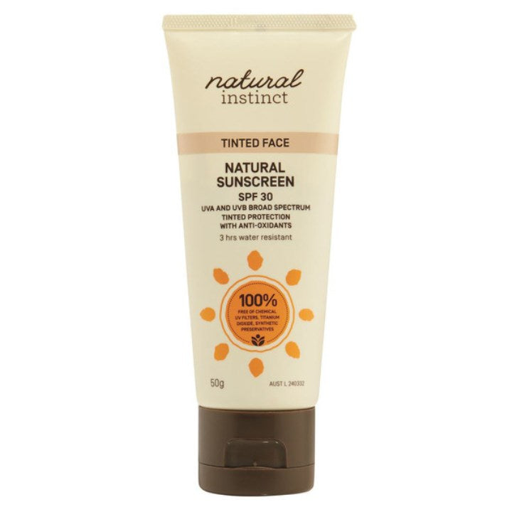 Natural Instinct Sunscreen Tinted Face 50g