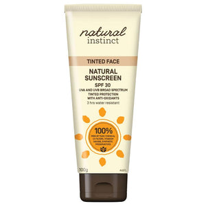 Natural Instinct Tinted Face Sunscreen