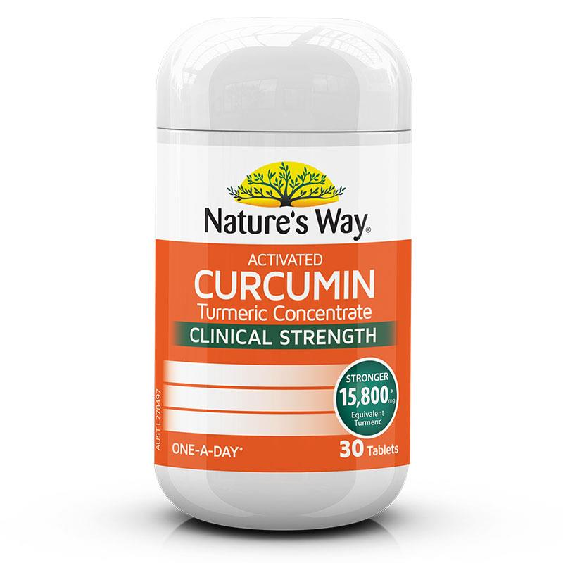 Natural Way Activated Curcumin 30