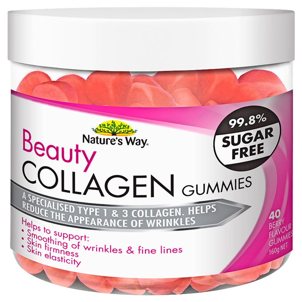 Natural Way Beauty Collagen Gummies 40