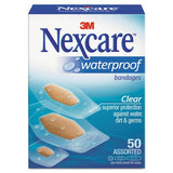 Nexcare Waterproof Clear Assorted 30