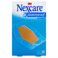 Nexcare Waterproof Large 60mmx88mm 10