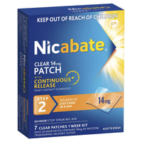 Nicabate Patch Clear
