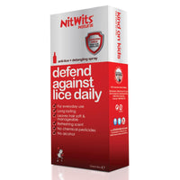 Nitwits Anti-Lice & Detangling Spray 125mL