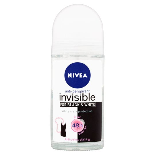 Nivea Roll-on Black & White Clear 50mL