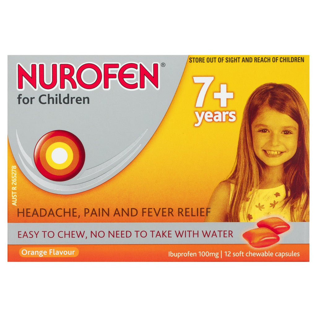 Nurofen 7+ Child Orange Chew 24