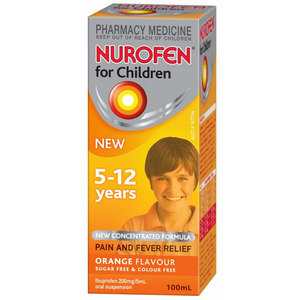 Nurofen Child 5-12yr Orange 100mL