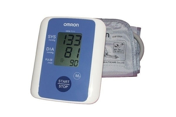Omron Heartsure Blood Pressure Monitor HEM 7111