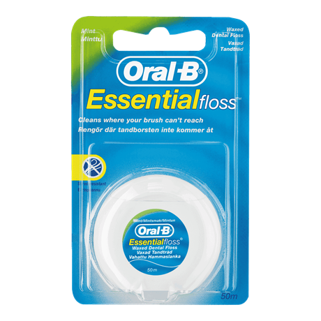 Oral-B Floss 50m Waxed Mint