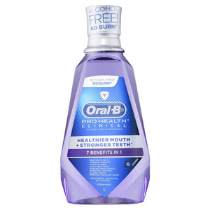 Oral B Pro Health Clincinal Rinse 1 Liter