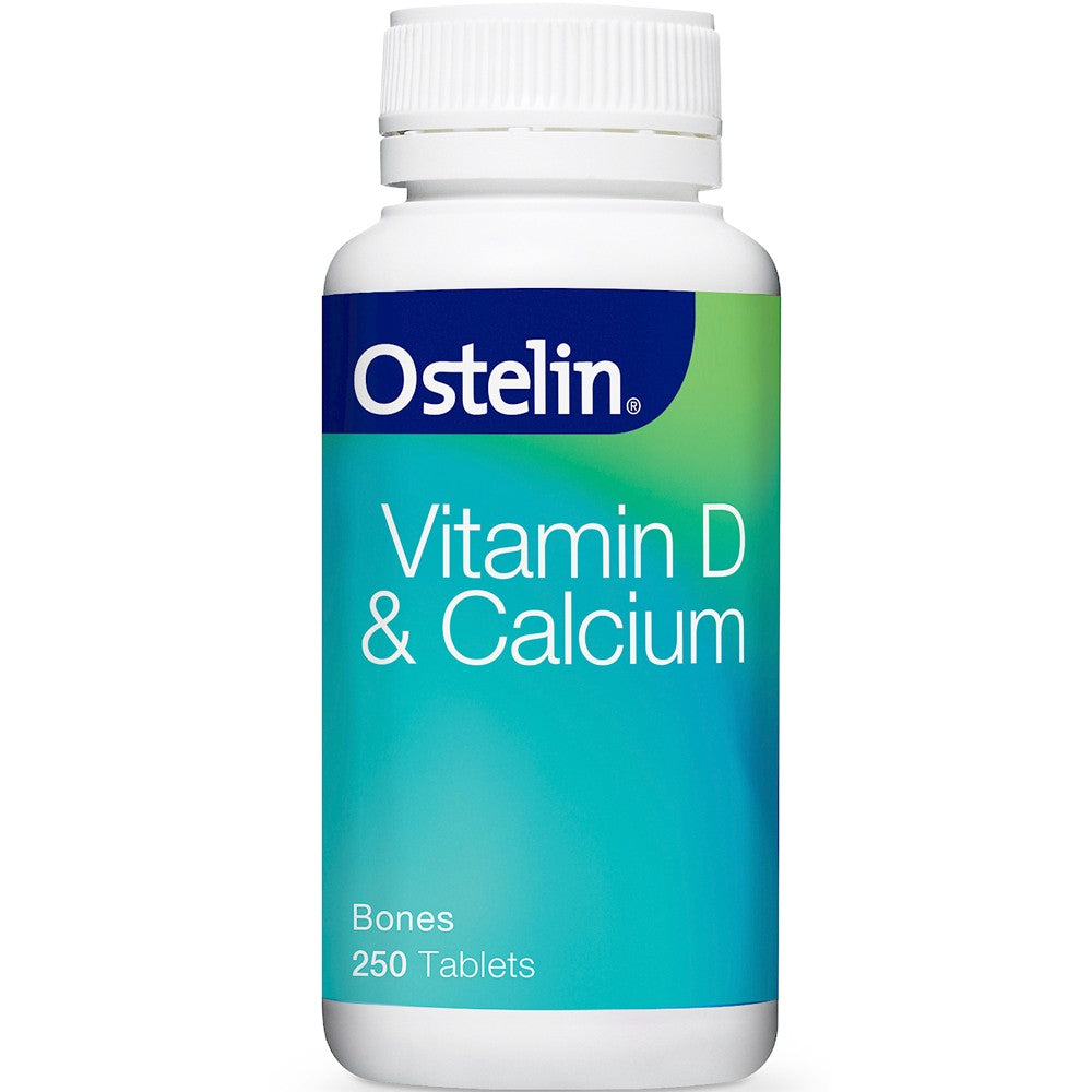 Ostelin Vitamin D+ Calcium 250 Tablets