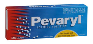 Pevaryl Solution Foam 3x10g