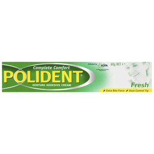 Polident Adhesive Cream Fresh Mint 60g