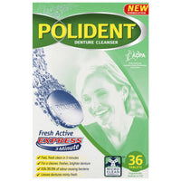 Polident Tabs Fresh Active 36