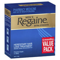 Regaine For Men Extra Strength 4 for 3