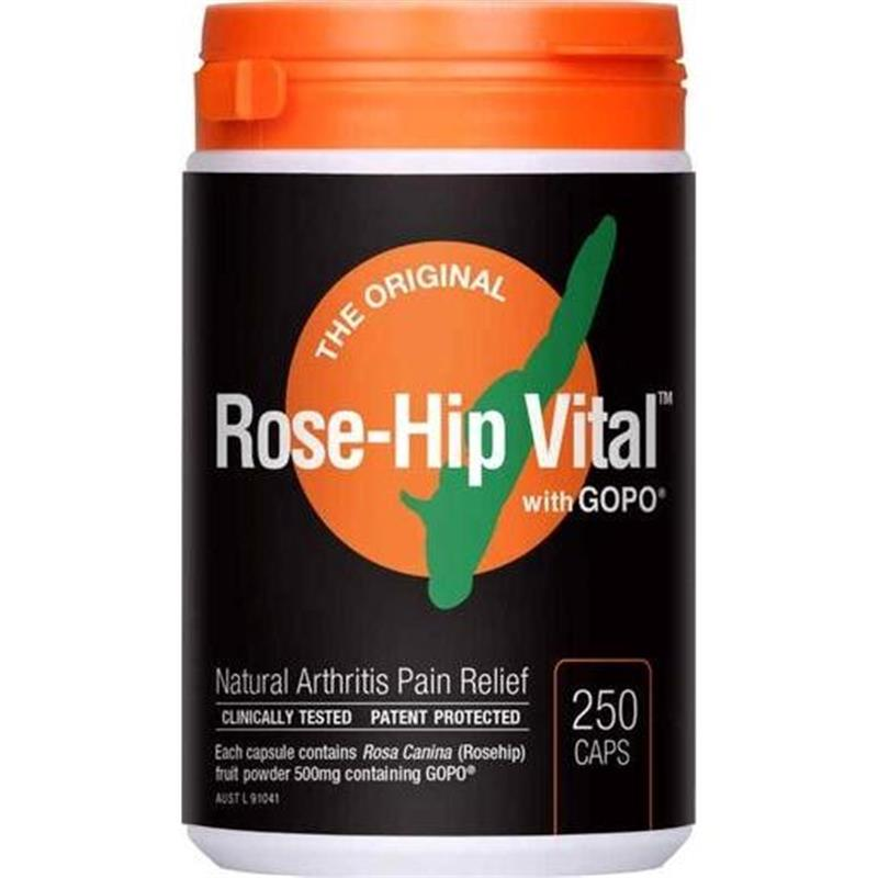 Rose-Hip Vital Caps 500mg 250