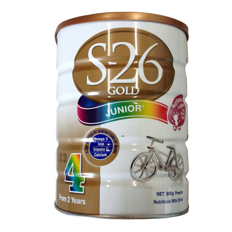 S26 Junior Gold 900g Step 4