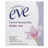 Summer Eve Cleanse Wipes 16