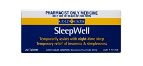 Gold Cross Sleepwell Tab 20