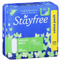 Stayfree Regular No Wing 20