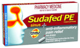 Sudafed PE Double Action Sinus Pain 24