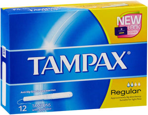 Tampax Applicator Regular 12 x6