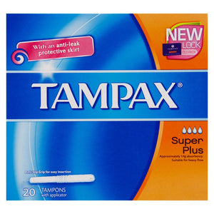 Tampax Applicator Super Plus 20 x3